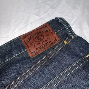 Lucky Brand 367 Vintage Boot Denim Blue Jeans